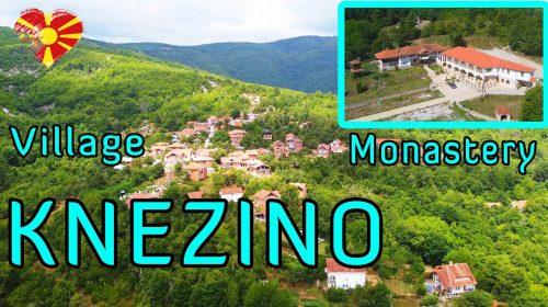 [ Discover Macedonia ] Ново видео за Кнежино,манастирот Св.Ѓорѓија,Куќата на уметноста и околината